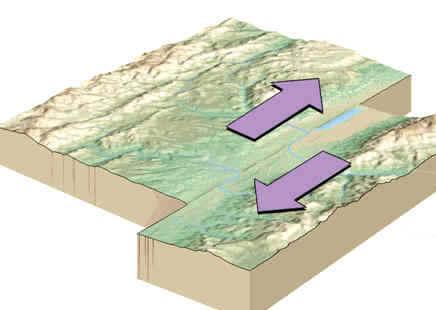 Riverview Science / transform fault line by erik ohman
